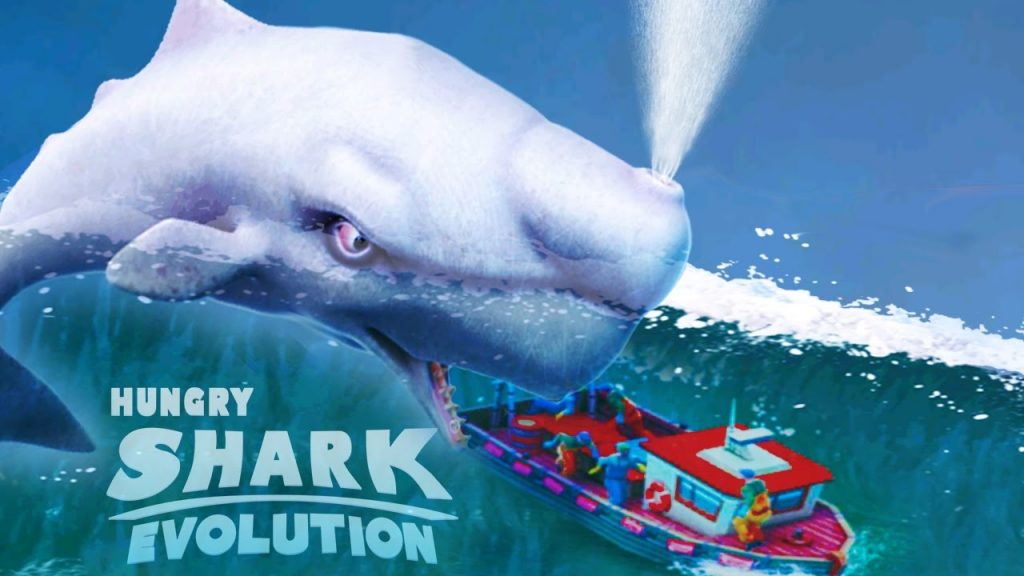 play hundry shark evolution game without internet