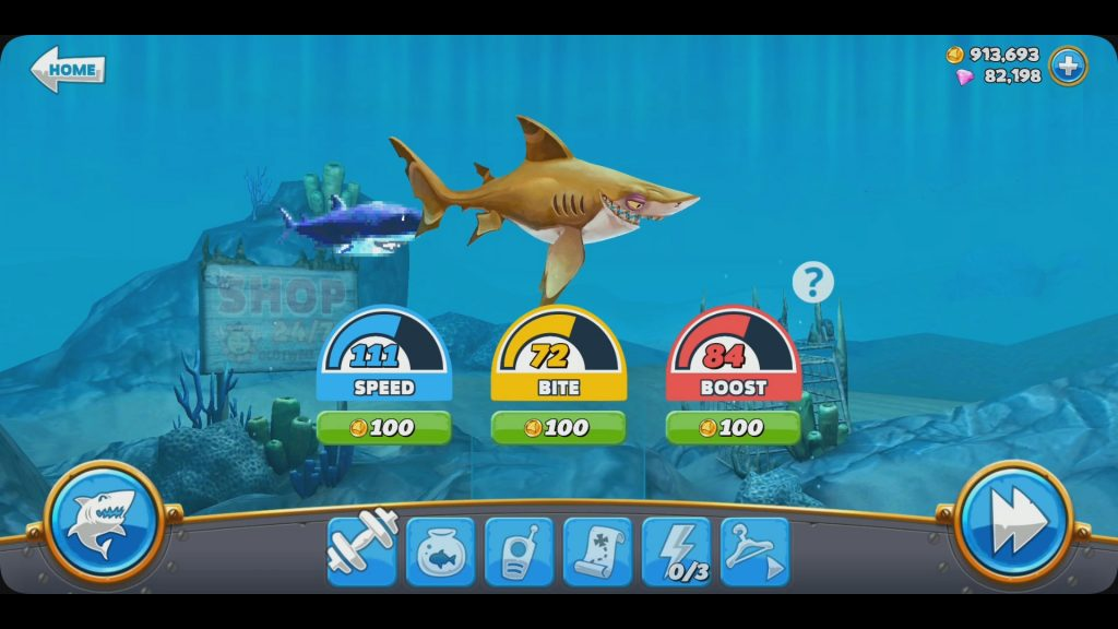hungry shark evolution gameplay