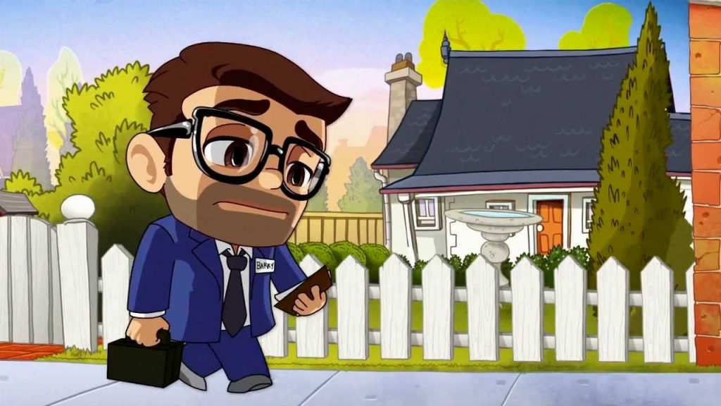 jetpack joyride game character story