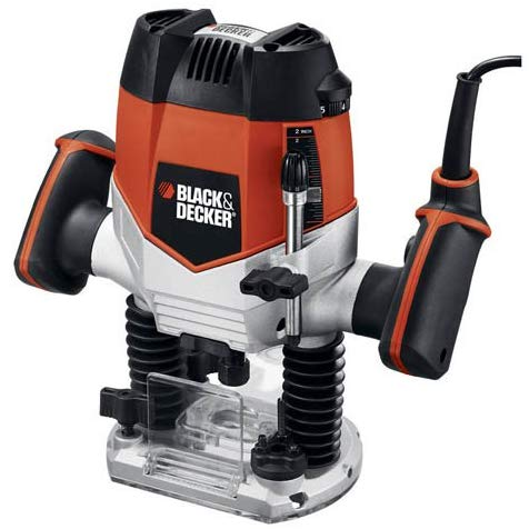 black and decker woodworking router