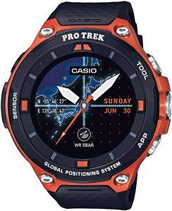 casio waterproof smartwatch for men