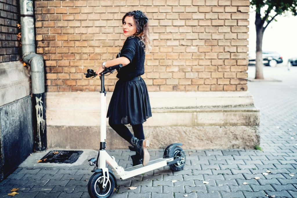 fast electric scooter