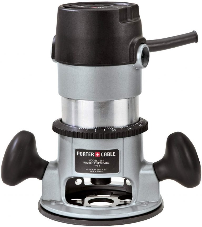 porter cable woodworking router