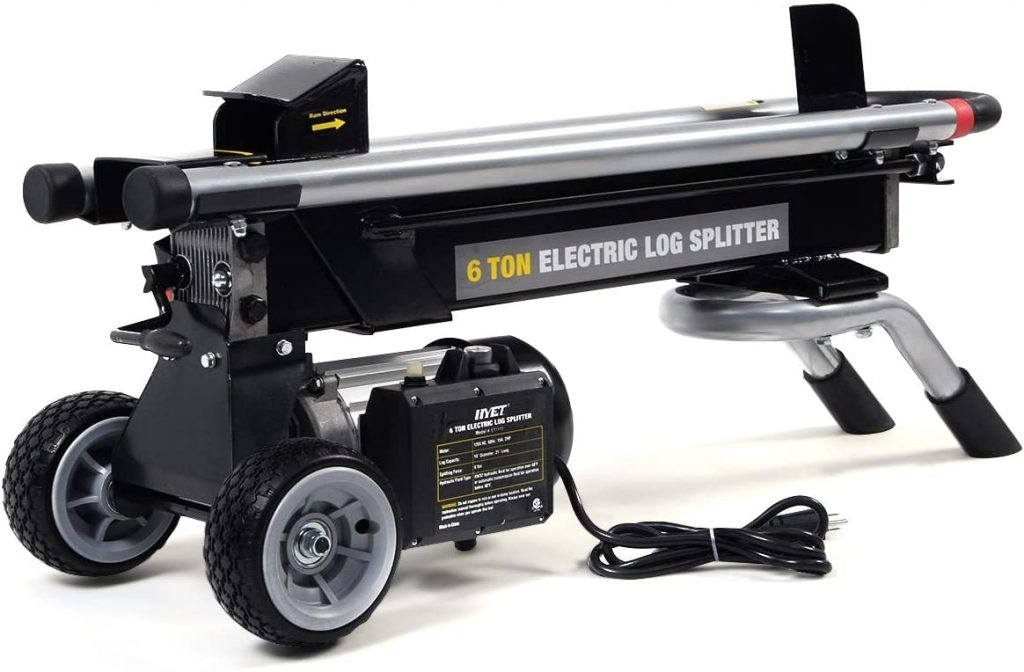 best electric log splitter for the money
