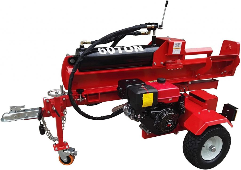 best commercial gas log splitter