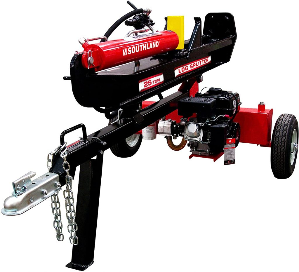 best gas powered log splitters