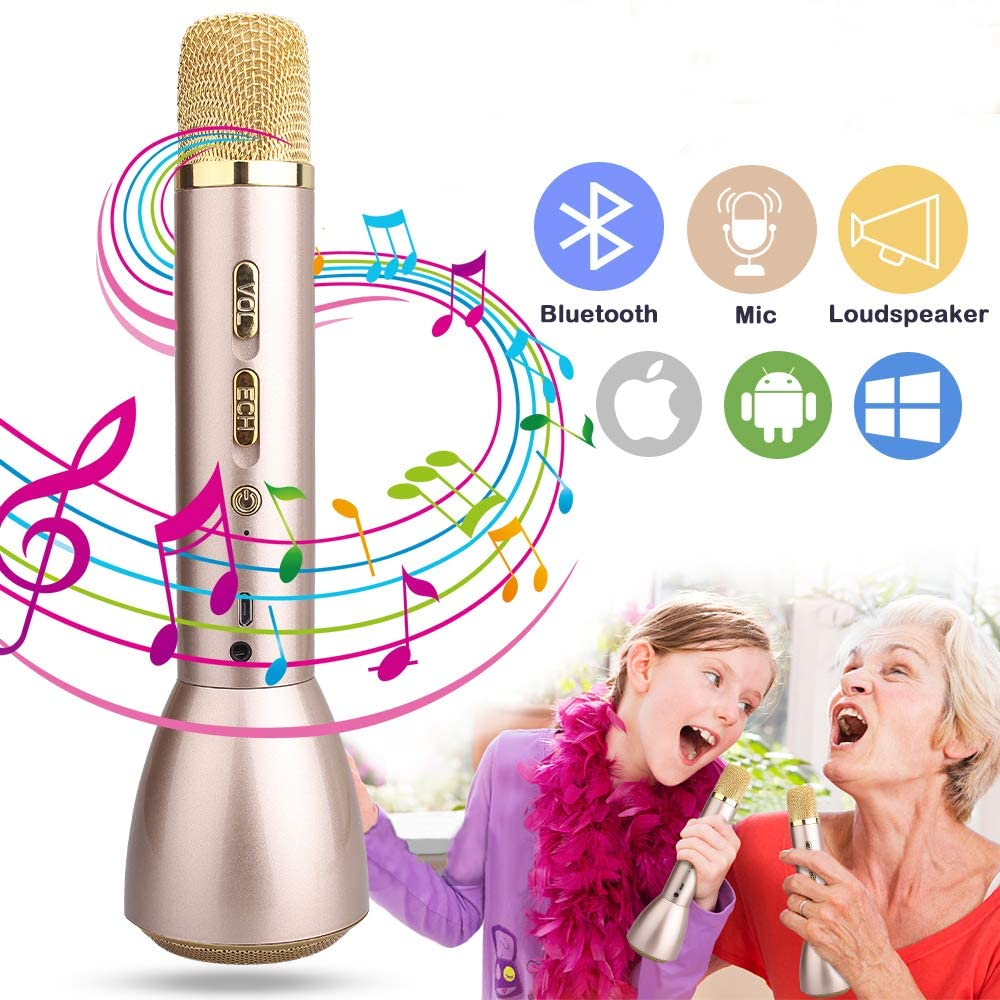 best portable karaoke microphone for kids