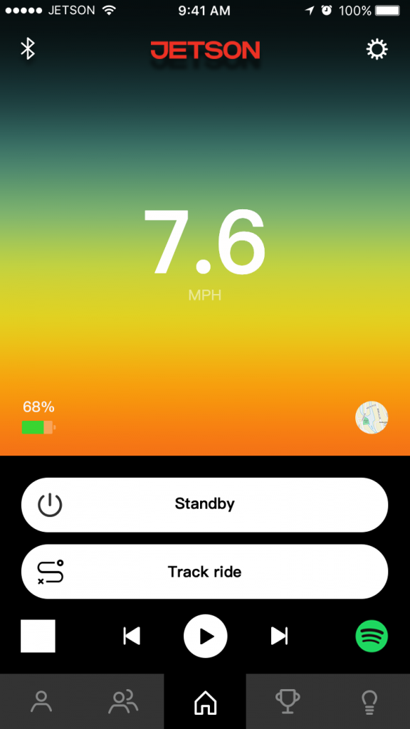 jetson strike hoverboard app review