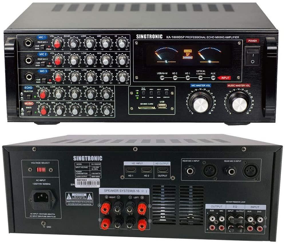 HDMI karaoke mixer [2021]